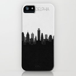 City Skylines: Philadelphia (Alternative) iPhone Case