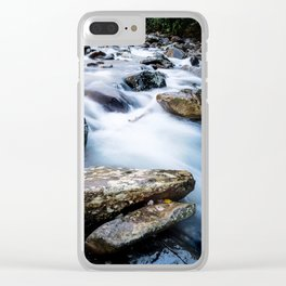 Take Me to the River - Rushing Rapids in the Great Smoky Mountains Clear iPhone Case