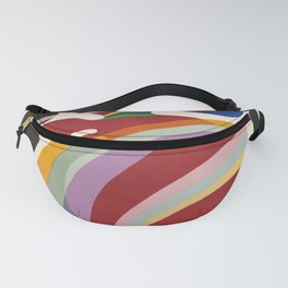 kandinsky periode parisienne vintage Poster Fanny Pack