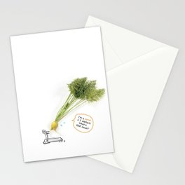 I'm A Carrot & I Workout! Stationery Cards
