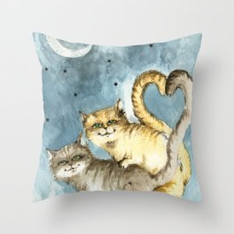 love time Throw Pillow