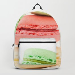 Macaron, Macarons, Macaroons, Tiny Silver Fork Backpack