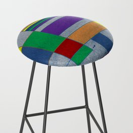 MidMod Rainbow Pride 1.0 Bar Stool