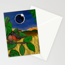 Solar Eclipse Dream Stationery Cards