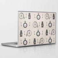 antique Laptop & iPad Skins featuring Antique Antiquities by Deborah Panesar Illustration
