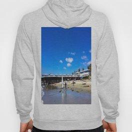 San Diego Beach Boardwalk/Crystal Pier Hoody