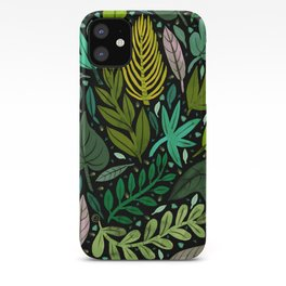 Green Scatter iPhone Case