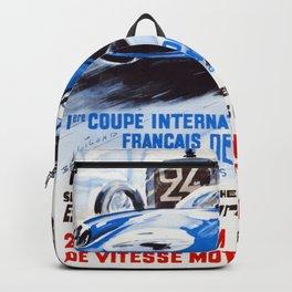 Vintage 1965 24 Hours of Le Mans Backpack
