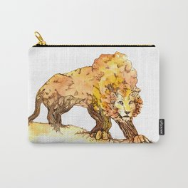 Fall TreeLion Carry-All Pouch