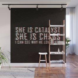 ILLUMINAE | She is Chaos Wall Mural