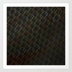 Square Traffic  Art Print