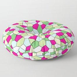 Pastel Mosaic Floor Pillow