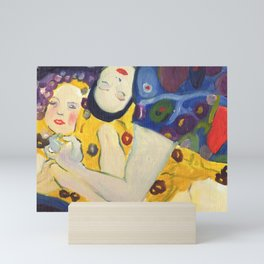 Klimt Girls Mini Art Print
