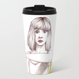 Maddie Ziegler Portrait Travel Mug