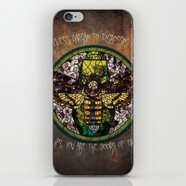 Death moth iPhone Skin