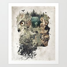 Forest Lake Dreams Art Print