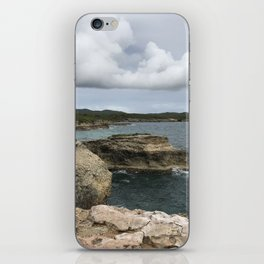 Lighthouse View in Vieques iPhone Skin