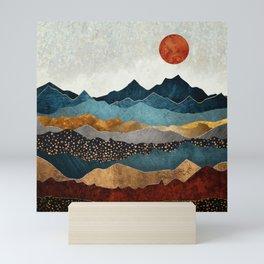 Amber Dusk Mini Art Print