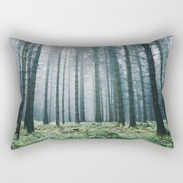 Forest adventures at dusk Rectangular Pillow