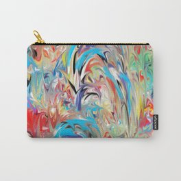 Color Fountain Carry-All Pouch