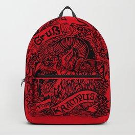 Gruss Vom Krampus Backpack