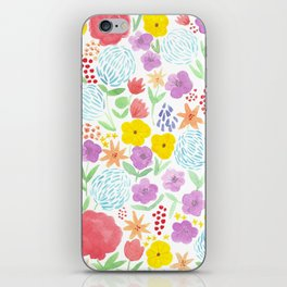 les fleurs iPhone Skin