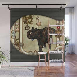 Amazing steampunk elefant Wall Mural