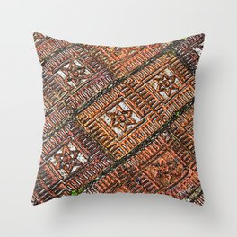 Sidewalk Stars Throw Pillow