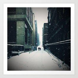 The Quiet Winter Art Print