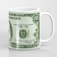 monet Mugs featuring Check the Monet by Thomas Orrow