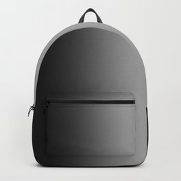 Black to White Vertical Bilinear Gradient Backpack