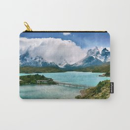 Magestic Landscape #photography #society6 #ocean#mountians Carry-All Pouch