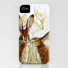 Funny rabbits - Little Kiss 543 Slim Case iPhone (4, 4s)