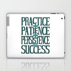 Success, turquoise Laptop & iPad Skin
