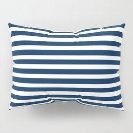 Navy-White ( Stripe Collection ) Pillow Sham
