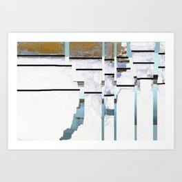Grid No.1 Art Print