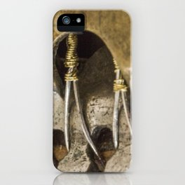 Golden Lady Legs iPhone Case