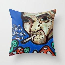 Maria Sabina Throw Pillow