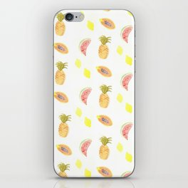 tropical pattern iPhone Skin
