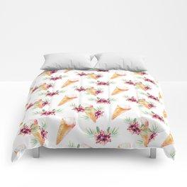 Hawaiian Dream Ice Cream Comforters