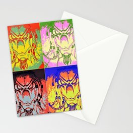 Predator Pop Art Stationery Cards