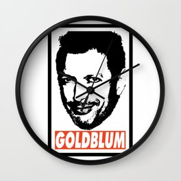 Goldblum Wall Clock