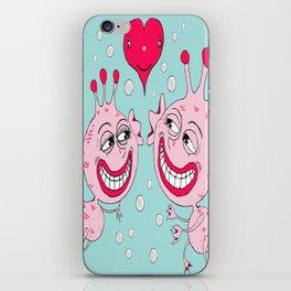 Sea Monkeys in Love iPhone Skin