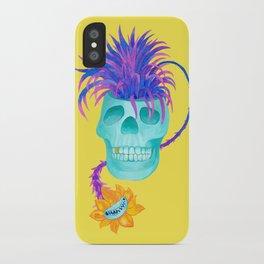 Rad cool skull iPhone Case