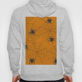 Halloween Spider Illustration Hoody