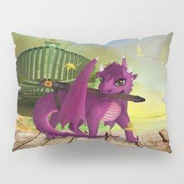 Dragonlings of Valdier: Jade Pillow Sham