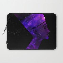 Queen Nefertiti Nebula Dark Stardust Laptop Sleeve