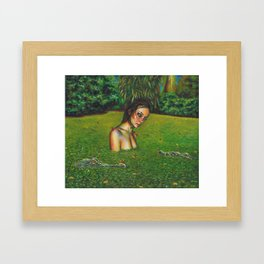 Cold-blooded Framed Art Print