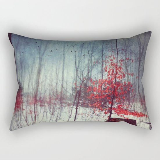 Midwinter Fantasy Rectangular Pillow