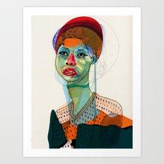 Girl_100412 Art Print